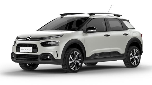 o novo Citroën SUV C4 Cactus